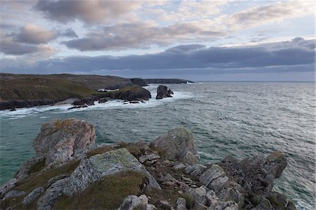 A September evening on the cliffs at Mangersta, Isle of Lewis, Outer Hebrides, Scotland, United Kingdom, Europe Stock Photo - Rights-Managed, Code: 841-07457774