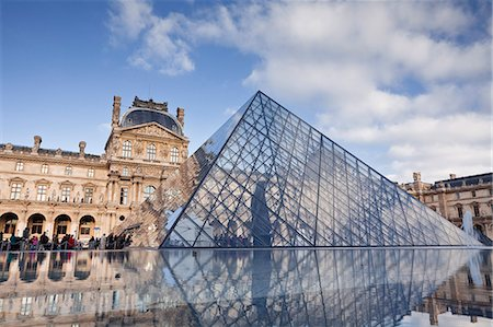france - The Musee du Louvre in central Paris, France, Europe Stock Photo - Rights-Managed, Code: 841-07541174