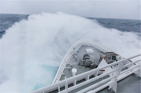 ships at sea - The Lindblad Expeditions ship National Geographic Explorer in heavy seas in the Drake Passage, Antarctica, Polar Regions Stock Photo - Rights-Managed, Code: 841-07653054
