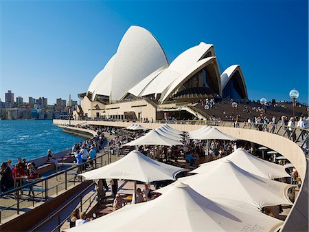 Sydney Opera House, UNESCO World Heritage Site, Sydney, New South Wales, Australia, Pacific Stock Photo - Rights-Managed, Code: 841-07653176