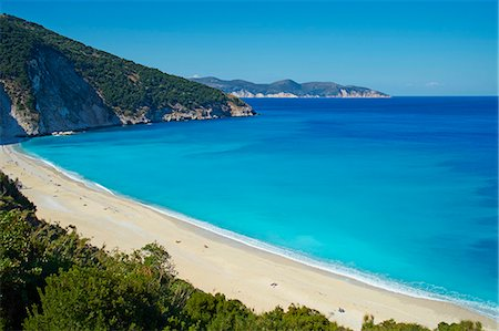 Myrtos Beach, Cephalonia, Ionian Islands, Greek Islands, Greece, Europe Stock Photo - Rights-Managed, Code: 841-07653480