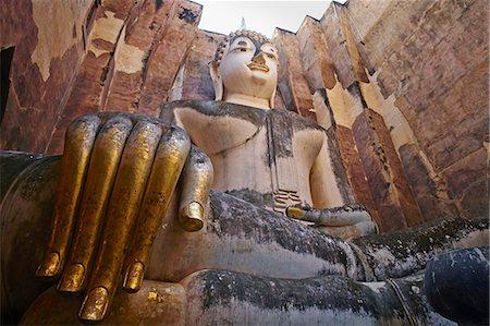 Wat Si Chum, Sukhothai Historical Park, UNESCO World Heritage Site, Sukhothai, Thailand, Southeast Asia, Asia Stock Photo - Rights-Managed, Code: 841-07673534