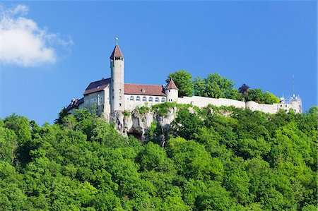 Teck Castle, Kirchheim Teck, Swabian Alb, Baden Wurttemberg, Germany, Europe Stock Photo - Rights-Managed, Code: 841-07781956