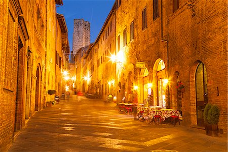 european (places and things) - The historic centre of San Gimignano, UNESCO World Heritage Site, Tuscany, Italy, Europe Stock Photo - Rights-Managed, Code: 841-07783172