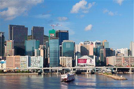 Skyscrapers of Kwun Tong, Kowloon, Hong Kong, China, Asia Stock Photo - Rights-Managed, Code: 841-07913888