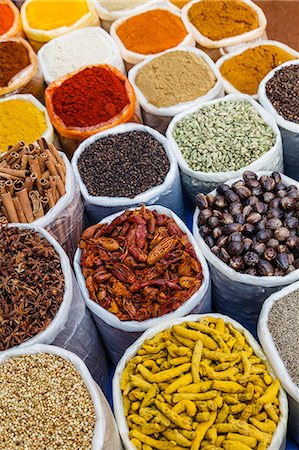 supermarket not people - Spice shop at the Wednesday Flea Market in Anjuna, Goa, India, asia Stock Photo - Rights-Managed, Code: 841-08059518