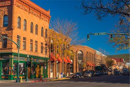 Main Avenue, Durango, Colorado, United States of America, North America Stock Photo - Rights-Managed, Code: 841-08102172
