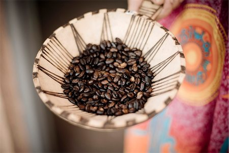 detail - Coffee beans, Omo Valley, Ethiopia, Africa Stock Photo - Rights-Managed, Code: 841-08102275