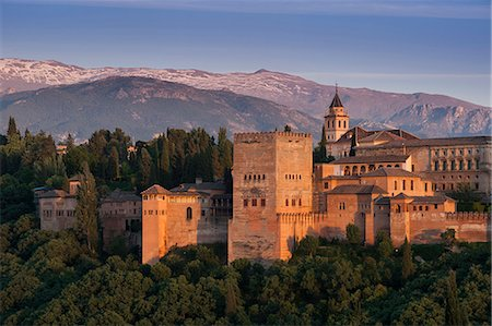 Alhambra, UNESCO World Heritage Site, Granada, province of Granada, Andalucia, Spain, Europe Stock Photo - Rights-Managed, Code: 841-08211670