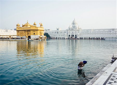 places - Harmandir Sahib (Golden Temple), Amritsar, Punjab, India, Asia Stock Photo - Rights-Managed, Code: 841-08211827