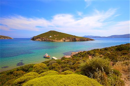 Livadi Beach, Patmos, Dodecanese, Greek Islands, Greece, Europe Stock Photo - Rights-Managed, Code: 841-08357254