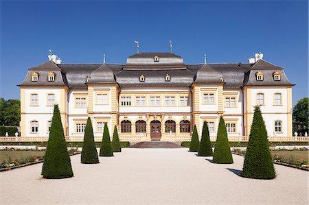 Schloss Veitshoechheim Castle, Roccoco garden, Veitshoechheim, Mainfranken, Lower Franconia, Bavaria, Germany, Europe Stock Photo - Rights-Managed, Code: 841-08357272