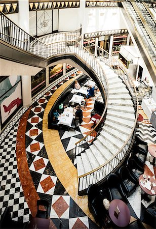 Art Deco interior of Quartier 206 Shopping Centre, Friedrichstrasse, Berlin, Germany, Europe Stock Photo - Rights-Managed, Code: 841-08357775