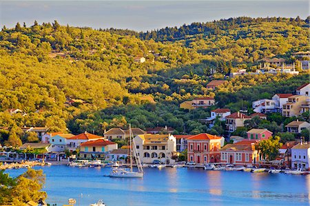 Gaios Harbour, Paxos, The Ionian Islands, Greek Islands, Greece, Europe Stock Photo - Rights-Managed, Code: 841-08421156