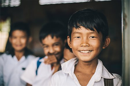 Primary school, Pong Teuk, Cambodia, Indochina, Southeast Asia, Asia Stock Photo - Rights-Managed, Code: 841-08568939