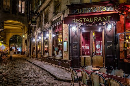 Parisian cafe, Paris, France, Europe Stock Photo - Rights-Managed, Code: 841-08568949