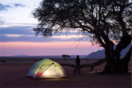 Camped on the edge of the Namib Desert at the Namtib Desert Lodge, Namibia, Africa Stock Photo - Rights-Managed, Code: 841-08663581