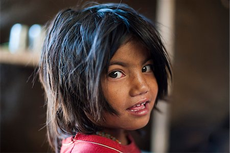 A little girl from Jumla, Nepal, Asia Stock Photo - Rights-Managed, Code: 841-08797844