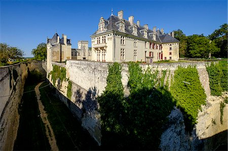 france - Breze, castle of Breze, dated 16th century, Maine et Loire, Anjou, France, Europe Stock Photo - Rights-Managed, Code: 841-08821567