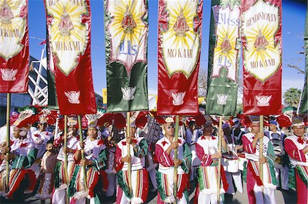 pictures philippine festivals philippines - Procession with banners, Mardi Gras carnival, Ati Atihan festival, Kalibo, island of Panay, Philippines, Southeast Asia, Asia Stock Photo - Rights-Managed, Code: 841-02704016