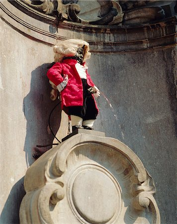 Manneken Pis, Brussels, Belgium Stock Photo - Rights-Managed, Code: 841-02707102