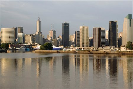 Buenos Aires skyline, Argentina Stock Photo - Rights-Managed, Code: 841-02707239