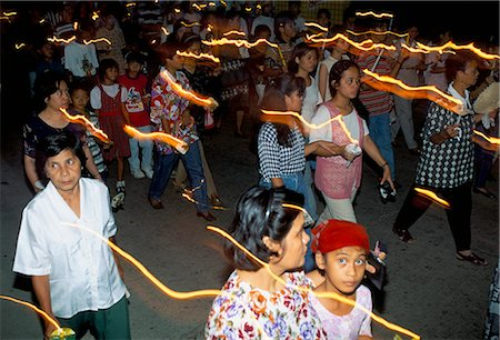 pictures philippine festivals philippines - Good Friday procession, Boac, island of Marinduque, Philippines, Southeast Asia, Asia Stock Photo - Rights-Managed, Code: 841-02715487