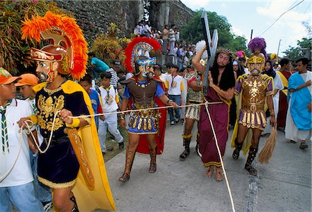 pictures philippine festivals philippines - Christ of Calvary in Easter procession, Morionnes, island of Marinduque, Philippines, Southeast Asia, Asia Stock Photo - Rights-Managed, Code: 841-02715490