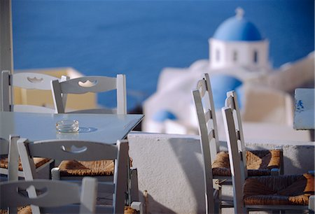 Bar, Thira (Fira), Santorini, Cyclades Islands, Greece, Europe Stock Photo - Rights-Managed, Code: 841-02715941