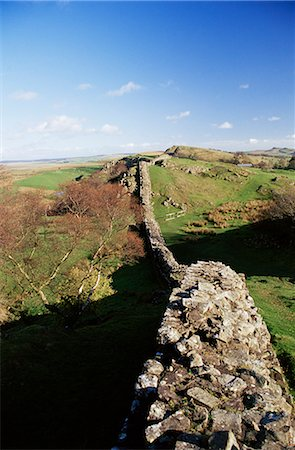 simsearch:845-03720933,k - Wallcrags, Roman wall, Hadrian's Wall, UNESCO World Heritage Site, Northumberland (Northumbria), England, United Kingdom, Europe Stock Photo - Rights-Managed, Code: 841-02717911