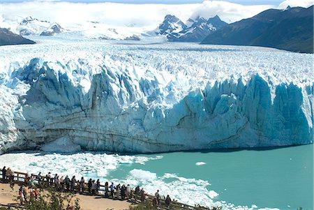 perito moreno glacier - Perito Moreno Glacier, Parque Nacional de los Glaciares, UNESCO World Heritage Site, Patagonia, Argentina, South America Stock Photo - Rights-Managed, Code: 841-02718571