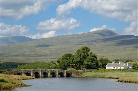 Ancient bridge near Newport, County Mayo, Connacht, Republic of Ireland (Eire), Europe Stock Photo - Rights-Managed, Code: 841-02719745
