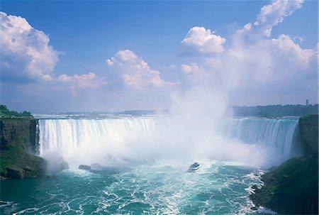 Horseshoe Falls, Niagara Falls, Ontario, Canada, North America Stock Photo - Rights-Managed, Code: 841-02710344
