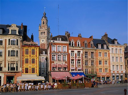 Grand Place, Lille, Nord Pas de Calais, France, Europe Stock Photo - Rights-Managed, Code: 841-02711246