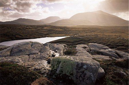 Mealisval Hill, west coast, Isle of Lewis, Outer Hebrides, Scotland, United Kingdom, Europe Stock Photo - Rights-Managed, Code: 841-02720438
