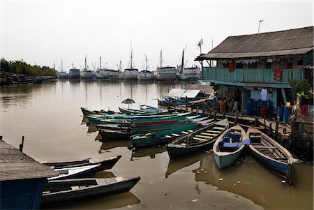 Village at old harbour, Sunda Kelapa, Jakarta, Indonesia, Southeast Asia, Asia Stock Photo - Rights-Managed, Code: 841-02721307