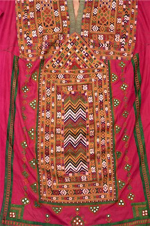 punjabi - Embroidered kurta from Baluchistan, Pakistan, Asia Stock Photo - Rights-Managed, Code: 841-02824261
