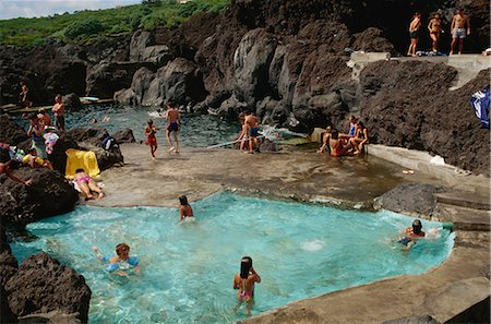 Varadouro pools, Faial, Azores, Portugal, Europe Stock Photo - Rights-Managed, Code: 841-02831239