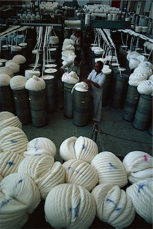 Modernised cotton mill in Ahmedabad, the Manchester of the East, Gujarat, India, Asia Stock Photo - Rights-Managed, Code: 841-02900381