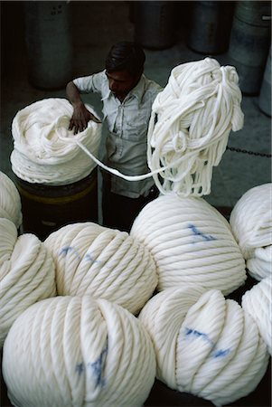 Modernised cotton mill in Ahmedabad, the Manchester of the East, Gujarat, India, Asia Stock Photo - Rights-Managed, Code: 841-02900383
