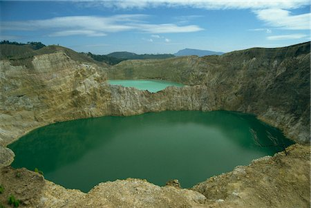 flores - Crater Lakes at Keli Mutu, Moni, Flores, Indonesia, Southeast Asia, Asia Stock Photo - Rights-Managed, Code: 841-02916952