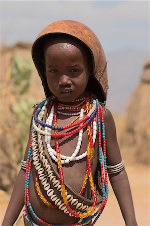 Ari girl, Lower Omo Valley, Ethiopia, Africa Stock Photo - Rights-Managed, Code: 841-02917052