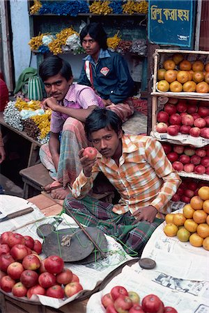 dhaka - Fruit stall, bazaar, Dacca, Bangladesh, Asia Stock Photo - Rights-Managed, Code: 841-02924273