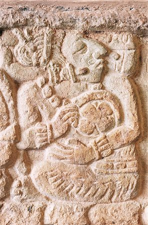 Detail, Structure 9N-82, Copan, UNESCO World Heritage Site, Honduras, Central America Stock Photo - Rights-Managed, Code: 841-02924449