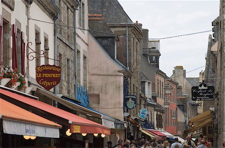 The old walled town of Concarneau, Southern Finistere, Brittany, France, Europe Stock Photo - Rights-Managed, Code: 841-02924982