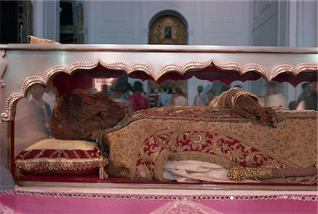 The remains of St. Francis Xavier, Se Cathedral, Old Goa, India, Asia Stock Photo - Rights-Managed, Code: 841-02945574