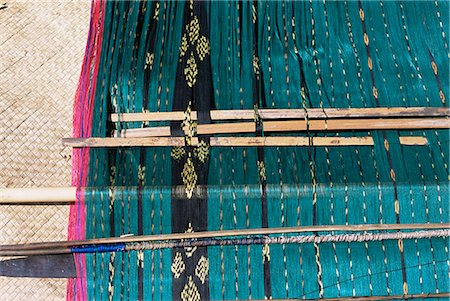 flores - Traditional ikat weaving, Flores, Indonesia, Southeast Asia, Asia Stock Photo - Rights-Managed, Code: 841-02946976