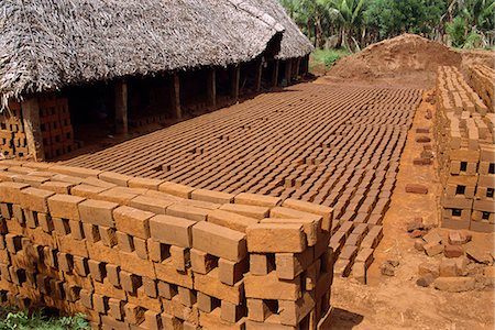 Brickworks, Tamil Nadu state, India, Asia Stock Photo - Rights-Managed, Code: 841-02991554