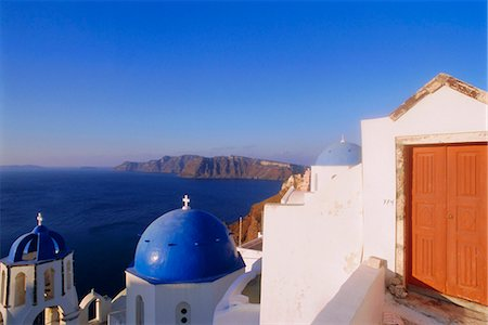 Thira (Fira),Santorini,Cyclades Islands,Greece,Europe Stock Photo - Rights-Managed, Code: 841-03034566