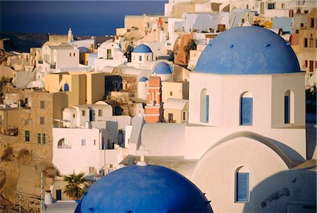 Thira (Fira),Santorini,Cyclades Islands,Greece,Europe Stock Photo - Rights-Managed, Code: 841-03034567